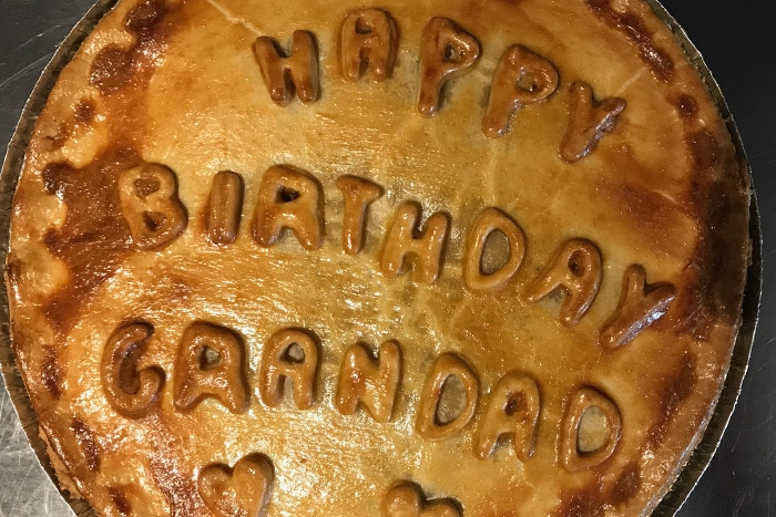 Personalised pies