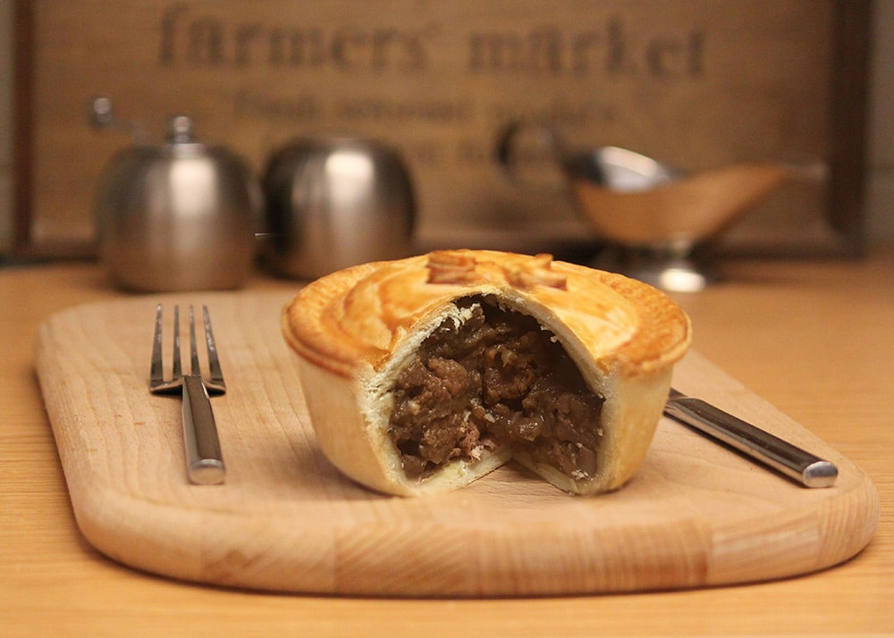 Steak And Kidney Pie Butler S Pie Company Brackley